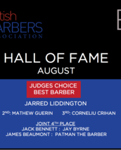 HALL OF FAME - Best Barber: JUDGES's Choice - AUGUST 2017
