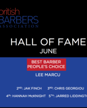 HALL OF FAME - Best Barber: People's Choice - JUNE 2017