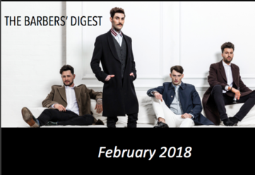 BARBER DIGEST - FEBRUARY STAY INFORMED INSPIRED EMPOWERED