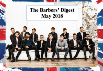 BARBER DIGEST - May  - STAY INFORMED, INSPIRED & EMPOWERED
