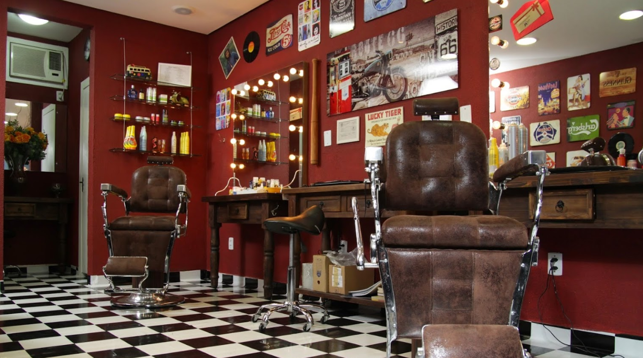 Blackdog Barbershop in blumenau, Brazil