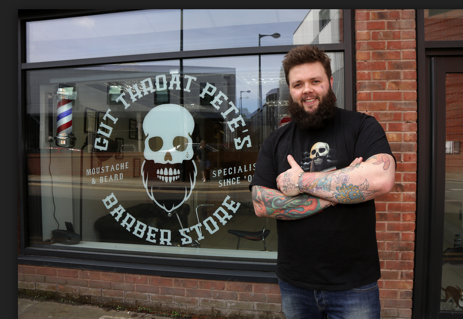 Cutthroatpete's Barber Store in Liverpool, United Kingdom