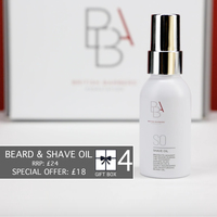 Beard & Shave oil - Gift Box : Normal RRP £24.00